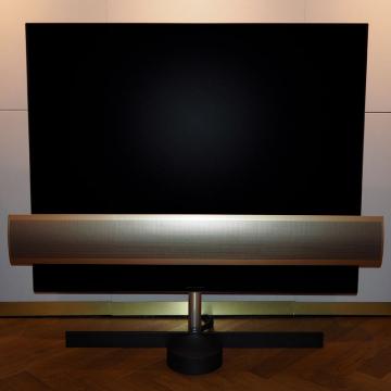 "BeoVision Eclipse Brass Tone - 55"" OLED TV"