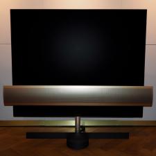 "BeoVision Eclipse Brass Tone - 65"" OLED TV"